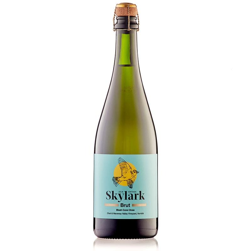 chet valley skylark brut sparkling wine 2018